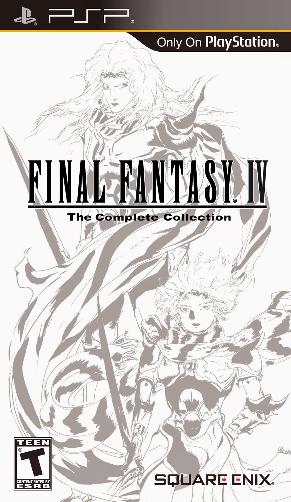 Final Fantasy IV: Complete Collection (USA) PSP ISO