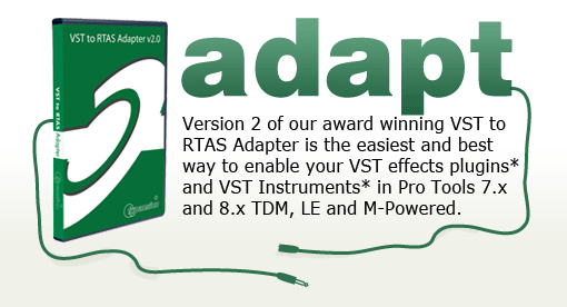 FXPansion – VST to RTAS Adapter 2 1 | PORTAL DO PRODUTOR