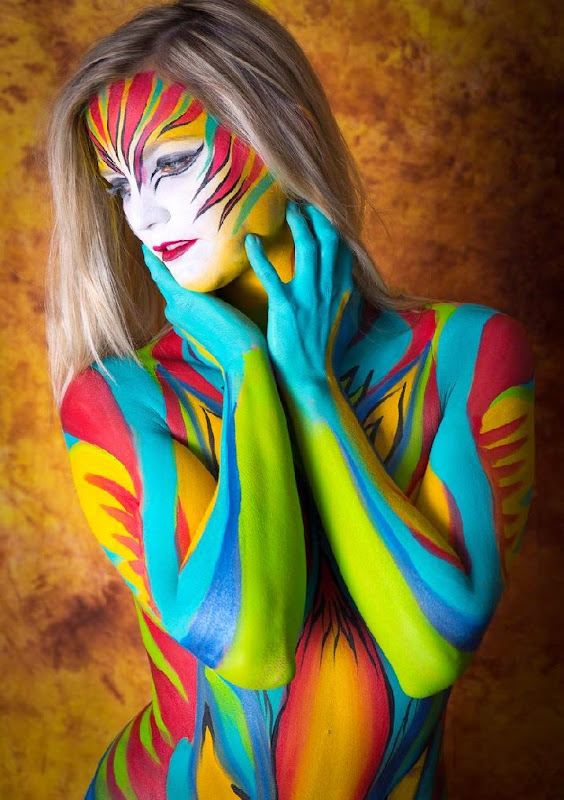 Abstract Body Art by Lynn Schockmel / 500px