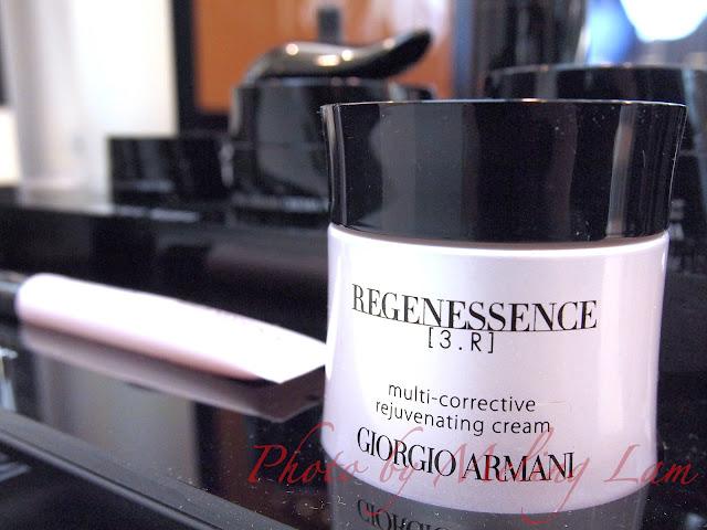GA Giorgio Armani Regenessence 3.R rejuvenating cream youth regenerator 三重再生護膚 facial