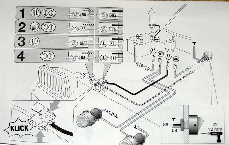 эту схему подключение DRL