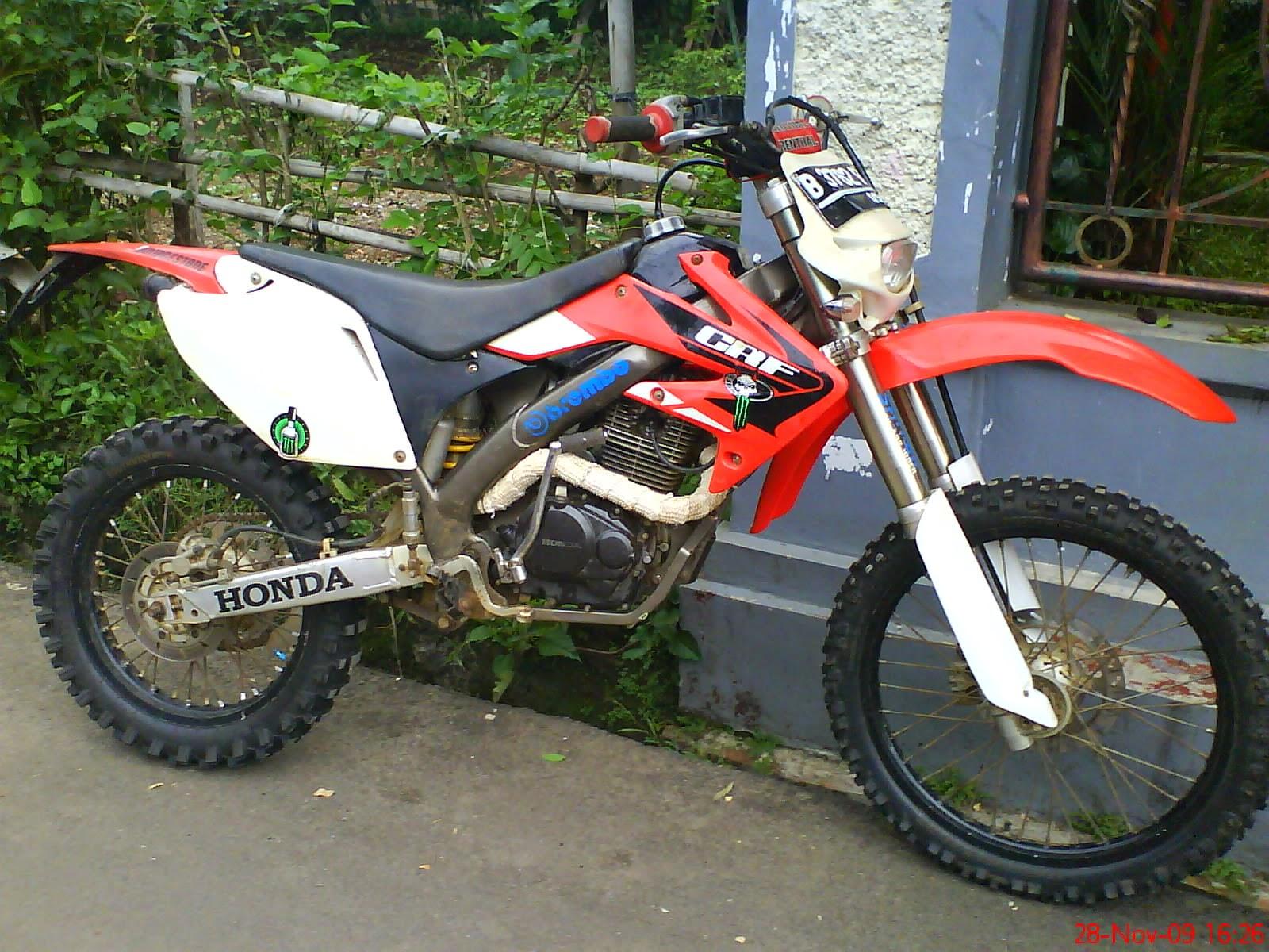 Motor Honda Tiger Modifikasi Trail
