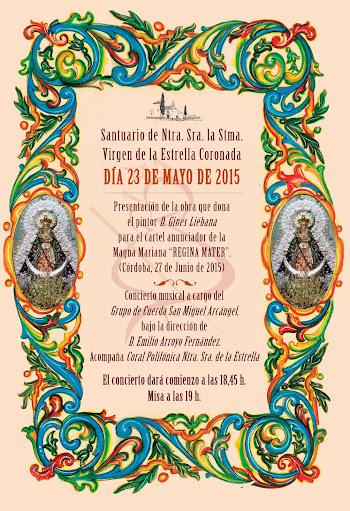 Presentación cartel de la MAGNA MARIANA