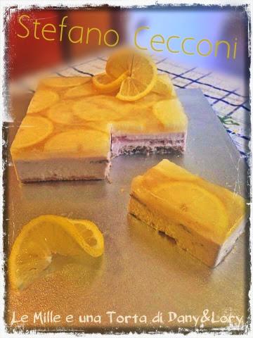 quadro d'autore al limone con mousse di tonno affumicato