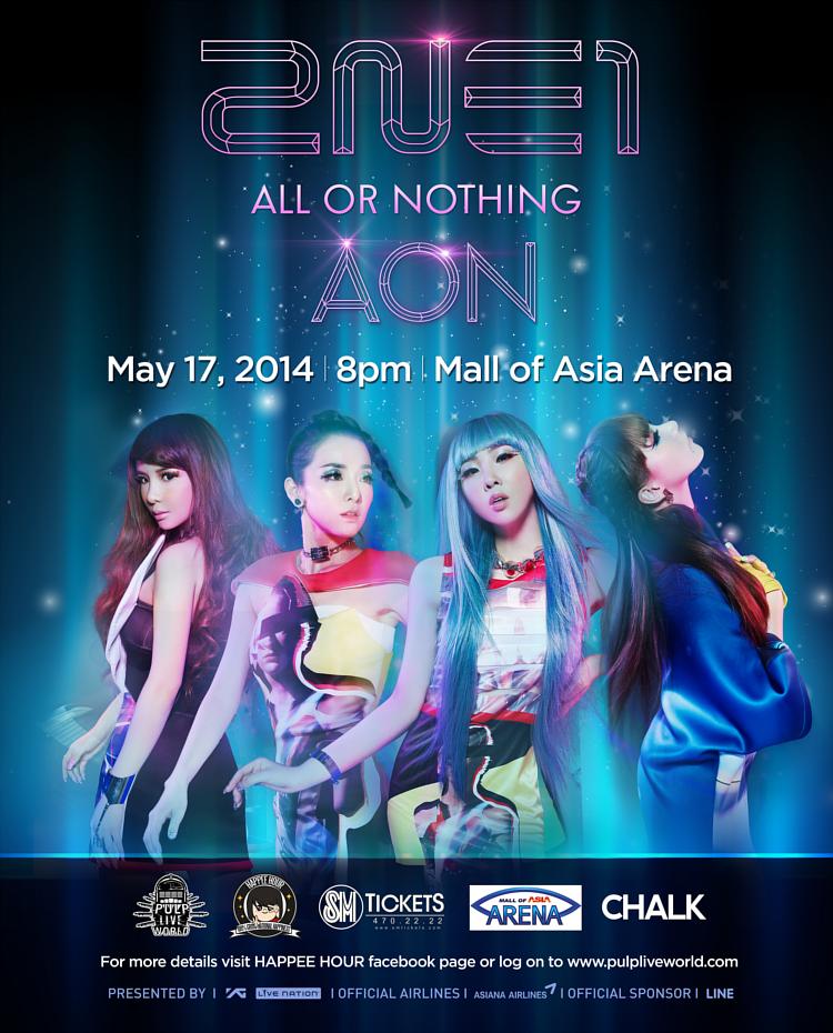 2NE1 Tour 2014 in Manila