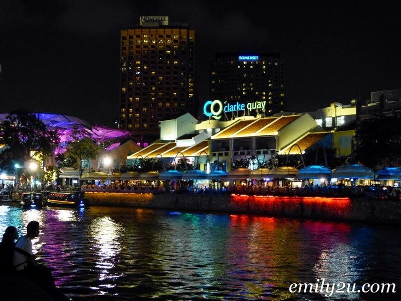 Boat Quay Clarke Quay Singapore