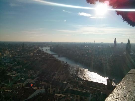 Vista dall'alto Verona