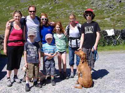 The Primrose Family & Rebecca, Finn & Louis Dunbar