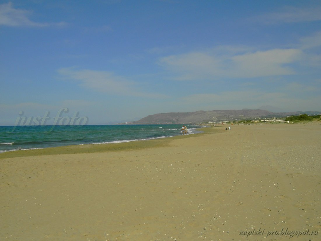 Крит пляжи - залив Суда