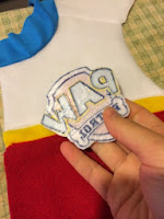 How to make a Paw Patrol patch for a Ryder vest.