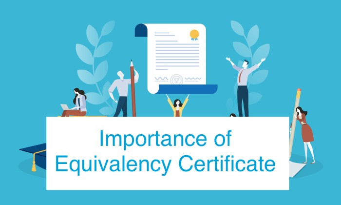 Importance of Equivalency Certificate