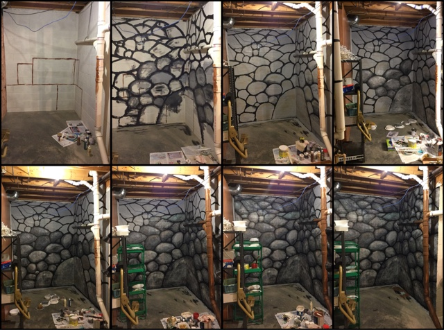 How To Paint A Rock Wall 4 000 Ideas