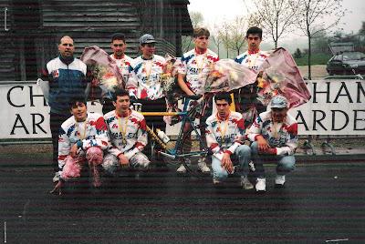 Championnat Champagne sociétés (Juniors) 1995