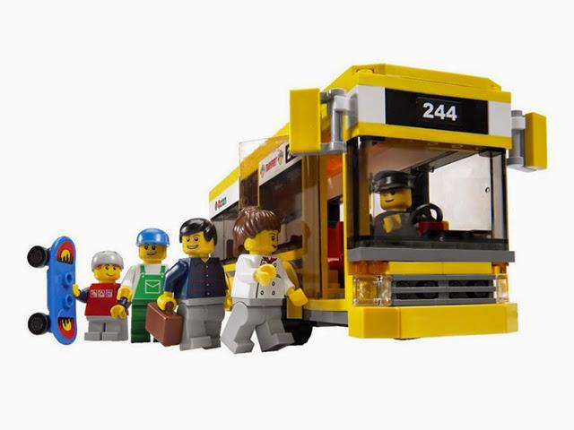 7641 レゴ レゴの町 街角