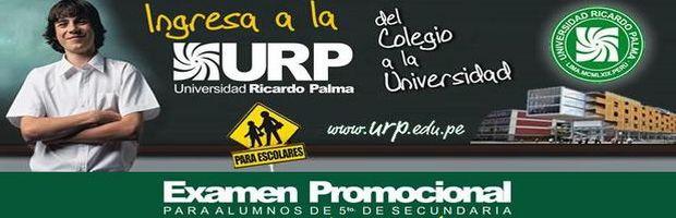 Resultado examen promocional 2013-I URP