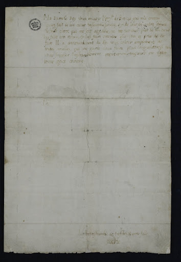 Mary, Queen of Scots: Letter to Mary of Guise