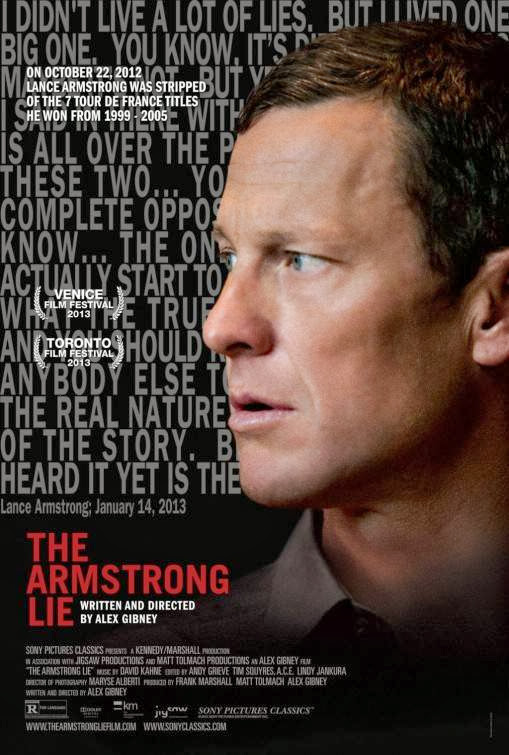 Poster Of English Movie The Armstrong Lie (2013) Free Download Full New Hollywood Movie Watch Online At Alldownloads4u.Com