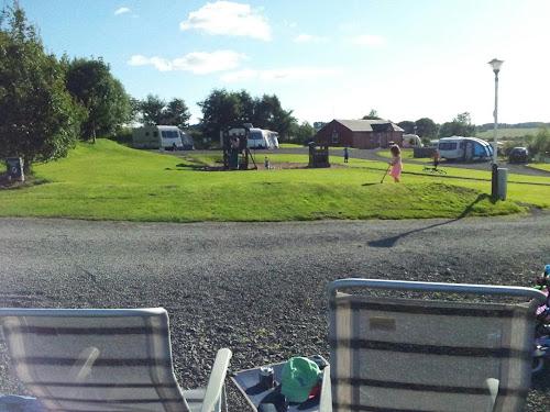 Camping  at Woods Caravan Park