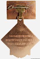 236c Medaille Vorbildliches Lehrlingskollektiv im sozialistischen Berufswettbewerb www.ddrmedailles.nl