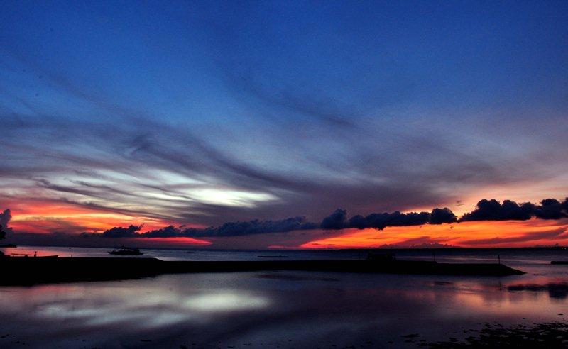 Blue Sunrise in Cebu
