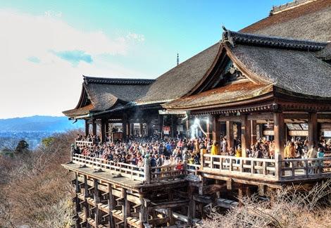 đi đền chùa ở nhật