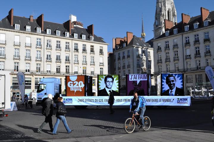 Le camion contre la faim à l'assaut du G20 ! Nantes%252520%2525282%252529
