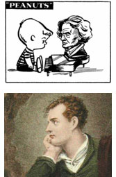 Lord Byron meets Beethoven