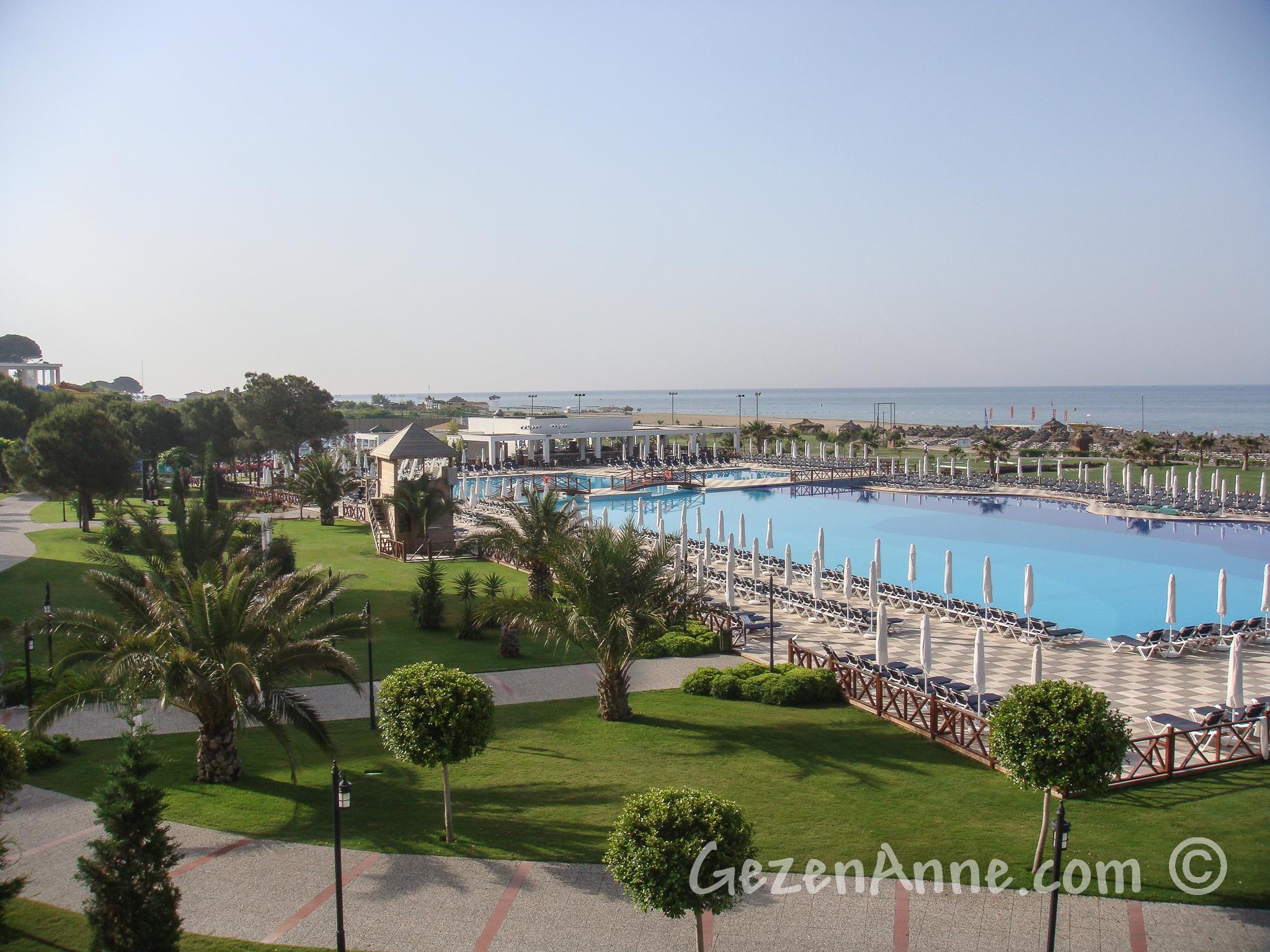 Voyage Belek havuzu ve denizi, Antalya