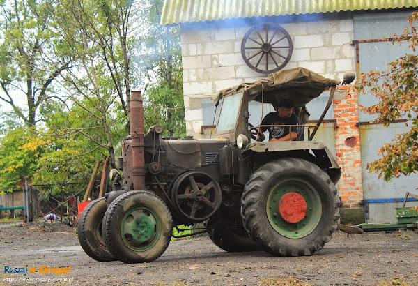 traktor URSUS z 1957 roku nadal sprawny