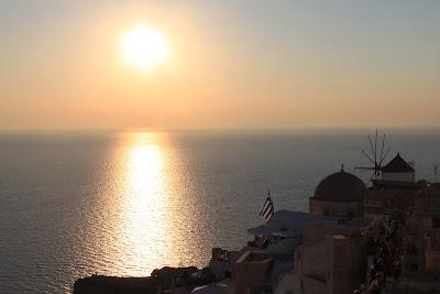 Pôr-do-sol - Oia - Santorini