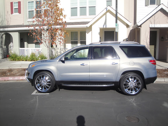 Chevy Traverse Forum: 20's info please - (yes I tried my ...