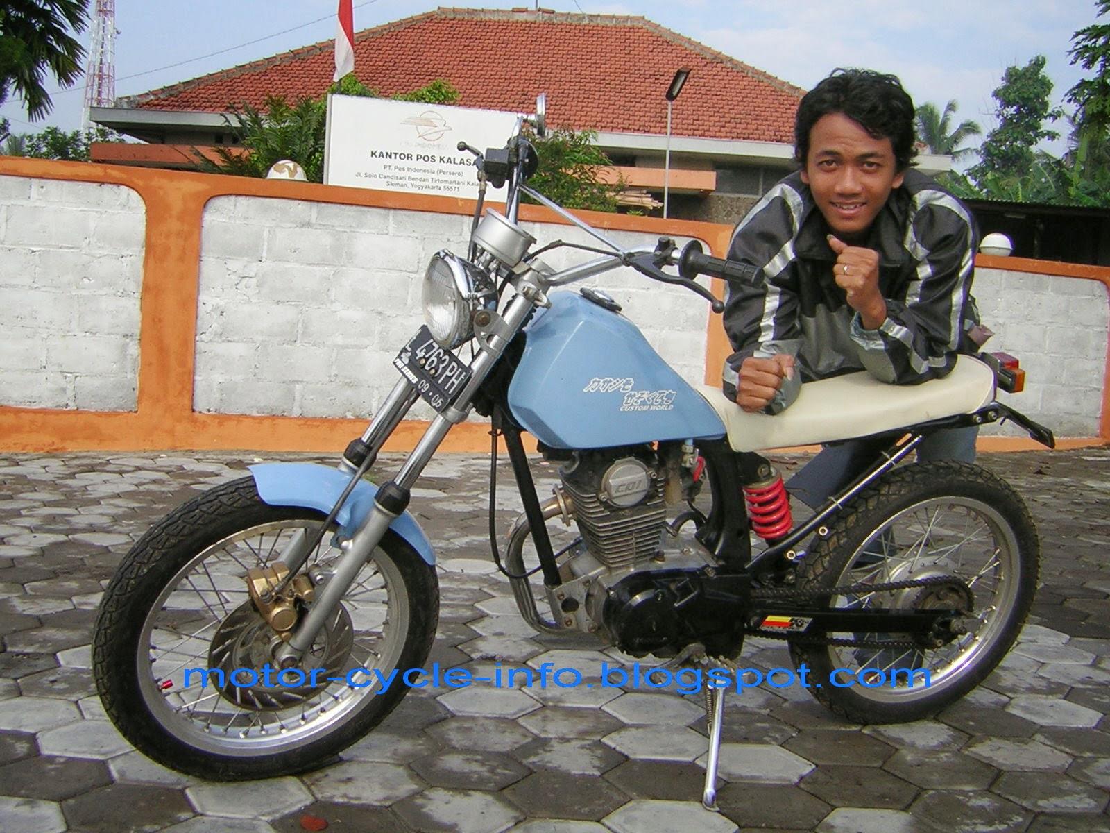 Modifikasi Honda Tiger Jadi Harley Davidson
