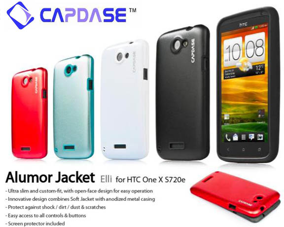 Capdase Case Alumor HTC One X / One X+