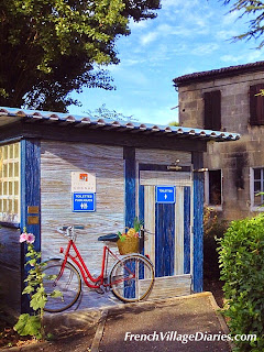 French Village Diaries #AllAboutFrance blog linky France public toilets