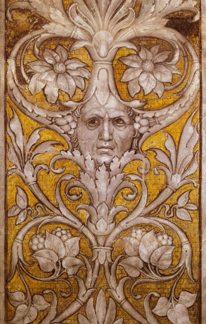 Andrea Mantegna - Grotesque Self-Portrait