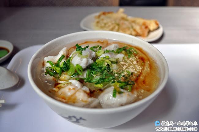 周氏蝦捲魚焿麵