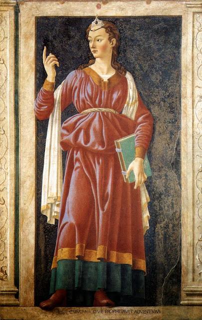 Andrea del Castagno - Sibyl of Cumae