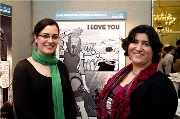 First prize winners, Sara Ferreira and Gisela Martins