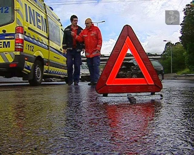 Acidente com ambulância condiciona A24 entre Vila Real e Lamego