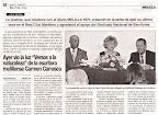 Artículo en el periódico 'Melilla Hoy'