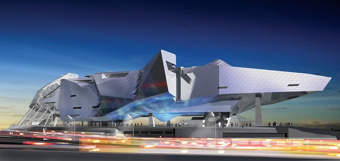 Musée des Confluences design by  Coop Himmelb(l)au