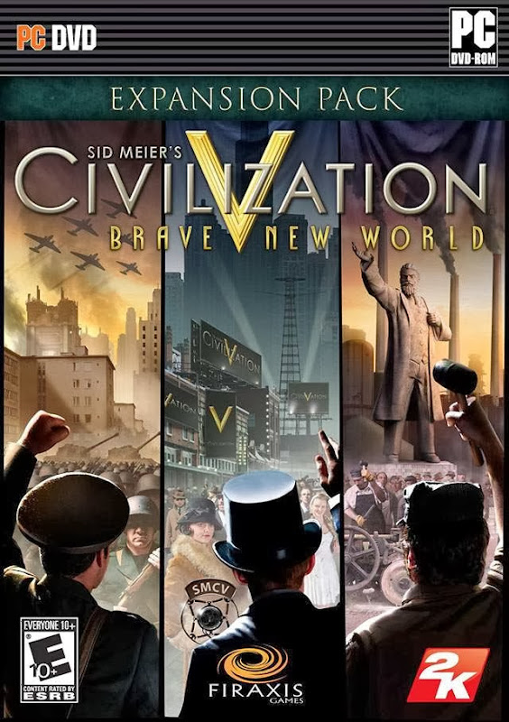 Cover Of Civilization V Brave New World (2013) Full Latest Version PC Game Free Download Resumable Links at Alldownloads4u.Com