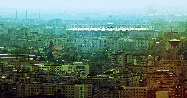 arena nationala panorama sky tower