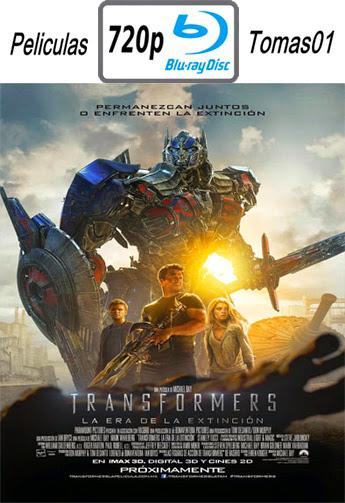 Transformers 4: La era de la extinción (2014) BRRip 720p