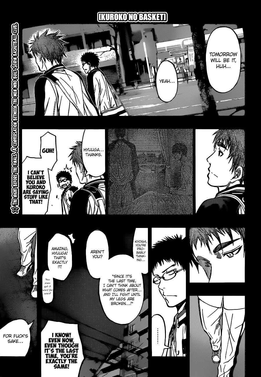 Kuroko no Basket Manga Chapter 258 - Image 01