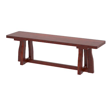 Brewster Bench in Sedona Cherry