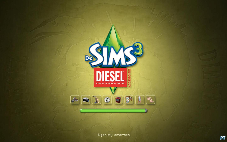De Sims 3 Film Accessoires laadscherm