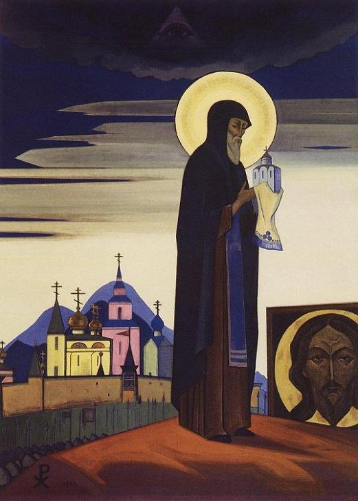 Картина - Святой Сергий Радонежский