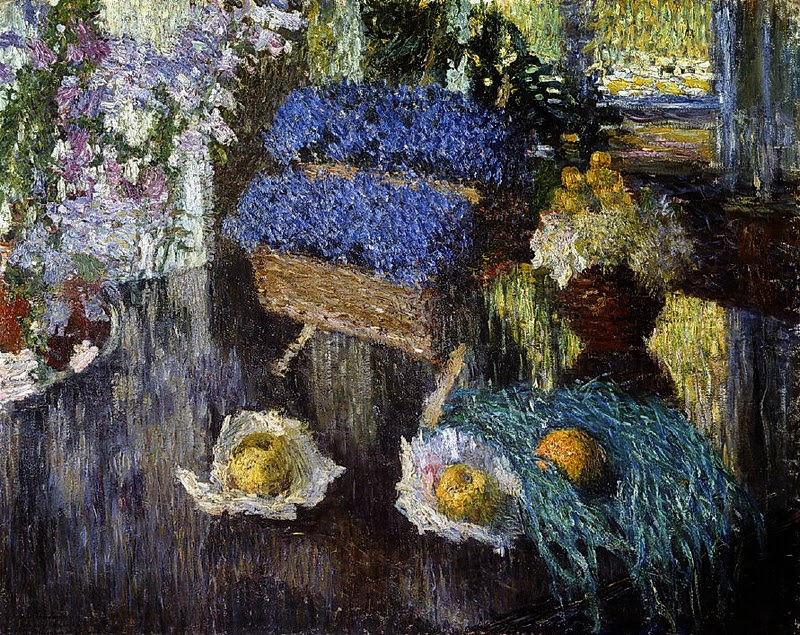 Igor Grabar - Still Life of Flowers and Fruit