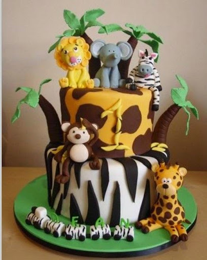 Cake Decoration Zoo : 50 Best Zoo Birthday Cakes Ideas And Designs - iBirthdayCake